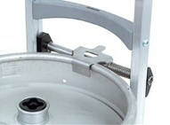 Keg hook for stair climber