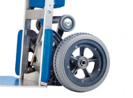Puncture proof tyres for SAL Powered Stairclimber